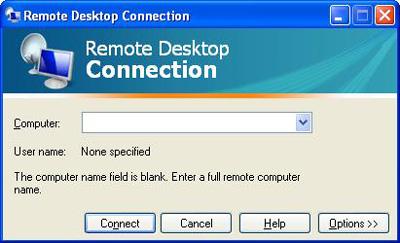 اتصال به کامپیوتر از راه دور, نرم افزار اتصال به کامپیوتر از راه دور