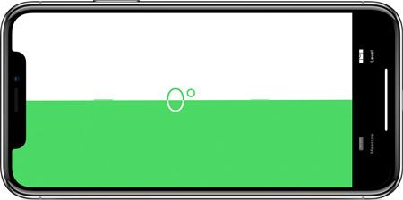 اپلیکیشن اندازه گیری iOS 12, اپلیکیشن Measure
