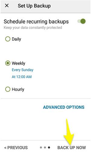 پشتیبان گیری از پیامک در اندروید, پشتیبان گیری از پیامک ها در موبایل