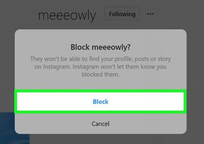 رفع بلاک در اینستاگرام, آنبلاک کردن کاربران در Instagram