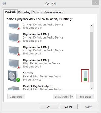 تنظیمات صدا در ویندوز 10, هنگ کردن سیستم عامل