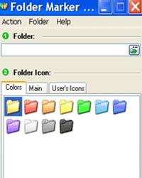 رنگی کردن پوشه های ویندوز