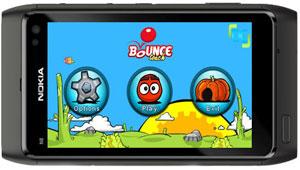 بازی bounce,بازی موبایل