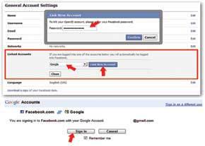 مرورگر اینترنت, نرم افزار مرورگر, فیس بوک