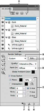 فتوشاپ آموزش, 3d, فتوشاپ, سهبعدی, کارت گرافیک