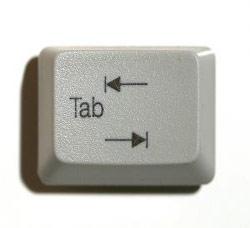 کليد مخالف Tab؛ يک نياز اساسي