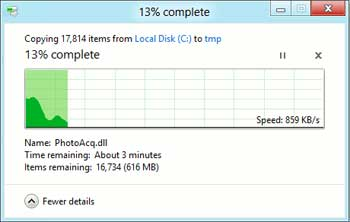 ویندوز ویستا, فایل سیستم, ویندوز ۸