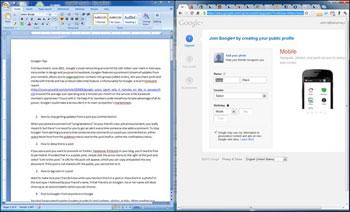 3 راه برای کنار هم قرار دادن دقیق دو پنجره در ویندوز 7