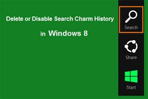 ترفند ویندوز 8, نوار charms ویندوز 8