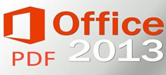 word 2013, فایلهای pdf, ذخیره فایل