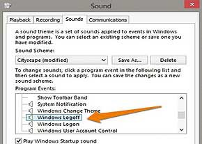 آهنگ ورود به سیستم عامل, ویندوز 8