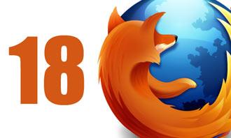 فایرفاکس 18, موزیلا فایرفاکس