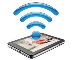 اتصال بی سیم تبلت به اینترنت