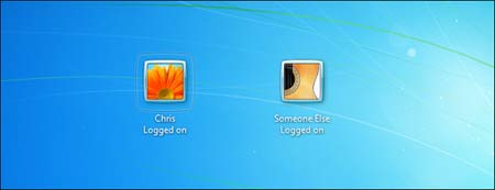 وارد شدن کاربران, ورود به ویندوز