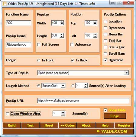 دانلود نرم افزار ساخت کد پنجره popup فقط با چند کلیک موس! کد پنجره popup, دانلود نرم افزار ساخت کد پنجره popup فقط با چند کلیک موس, دانلود نرم افزار ساخت کد پنجره popup, کد پنجره popup, نرم افزار ساخت پاپ آپ, پاپاپ, آموزش کامپیوتر, پاپ آپ, آموزش جاوا اسکریپت, ساخت پنجره های pop-up, نرم افزار ساخت pop-up, اموزش اینترنت, اموزش ساخت سایت, اموزش جاوااسکریپت, کد پاپ اپ, پاپ آپ چیست, اموزش جاوا اسکریپت