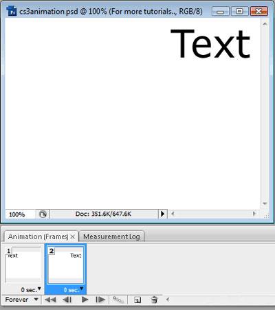 انیمیشن سازی در فتوشاپ cs3, آموزش انیمیشن