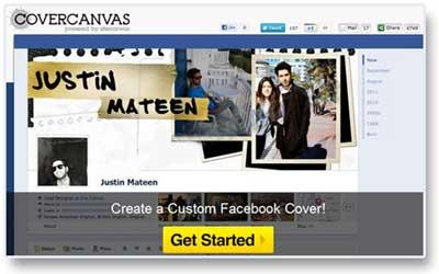 ابزار آنلاین, تایم لاین در فیس بوک