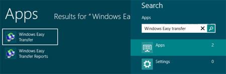 بازیابی اطلاعات در کامپیوتر,انتقال فایل از ویندوز 7 به 8