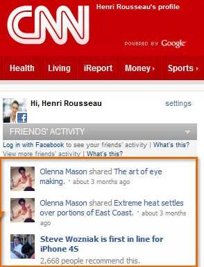 آموزش فیس بوک, اپلیکیشن, ترفندهای فیس بوک