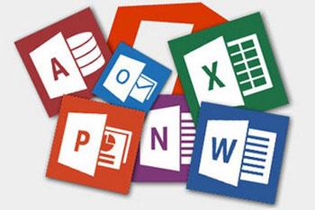 آموزش ورد, فایلهای باز شده در آفیس