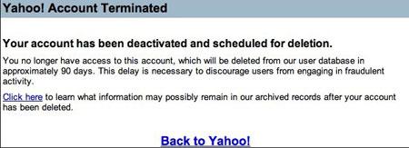 هک شدن اکانت یاهو, شبکه های اجتماعی