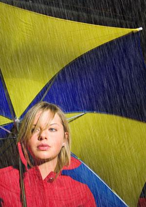 آموزش افکت باران, نرمافزار فتوشاپ