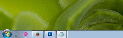 باگ عجیب در نوار تسکبار ویندوز 7!