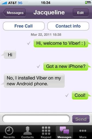 Viber چیست, اینترنت, آموزش کار با Viber