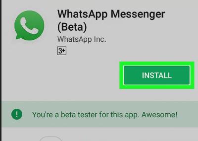 واتس اپ, گوشی اندرویدی, نرم افزار واتس اپ