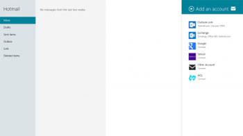 Mail, ترفندهای یاهو, Mail ویندوز ۸