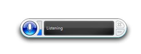 کنترل کامپیوتر ,  برنامه تشخیص صدا , ویندوز 7