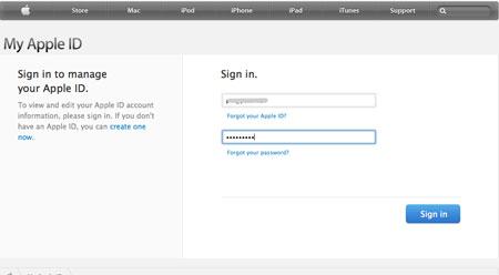 اپل آیدی, امنیت گوشی موبایل, اطلاعات دیواس