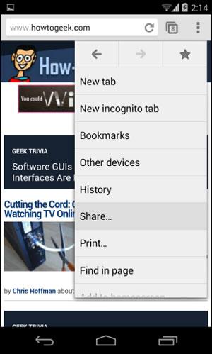 سیستم عامل Android ,  گوشی هوشمند , ترفند موبایل