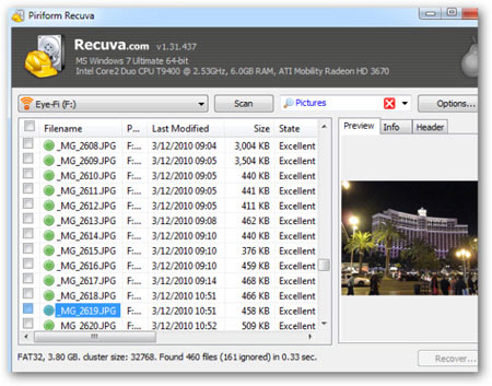 ریکاور کردن فایل, ترفندهای کامپیوتری