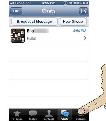 ترفند واتس آپ, اموزش whatsapp, فیسبوک