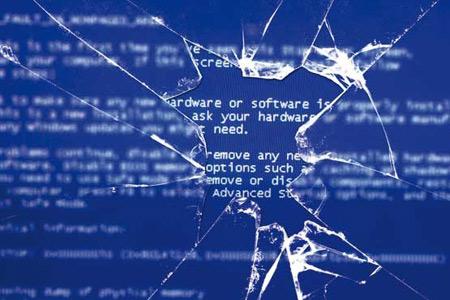 کارت گرافیک, صفحه نمایشگر, خطای BSoD