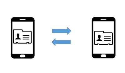انقال فایل, ارسال فایل با گوشی