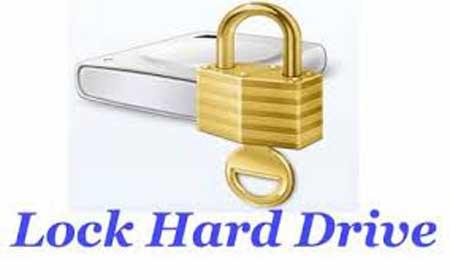 افزایش امنیت کامپیوتر, قفل کردن درایو