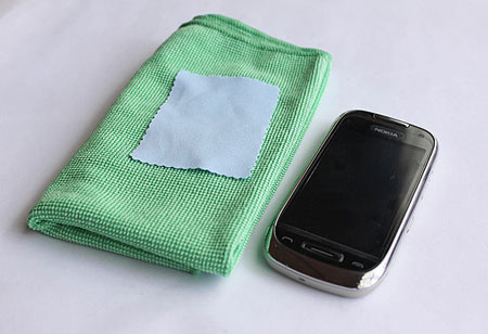 تمیز کردن صفحه لمسی گوشی, تاچ