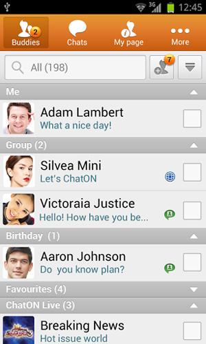 نرم افزار chat on, بررسی اپلیکیشن