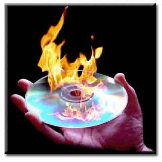 رایت بیش از 700 مگابایت بر روی یک cd