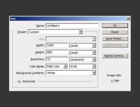 ترفندهای فتوشاپ, ایجاد متن در فتوشاپ