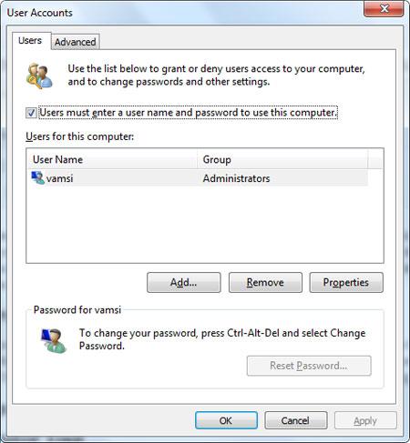 ترفندهای کامپیوتری , کاربر حرفه ای ویندوز