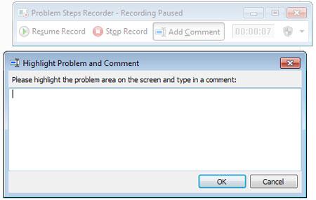 ویندوز 7, ابزار گزارشگیری