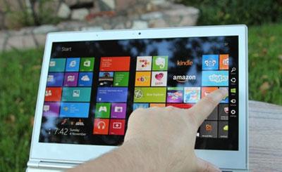 غیرفعالسازی لمسی در ویندوز 8