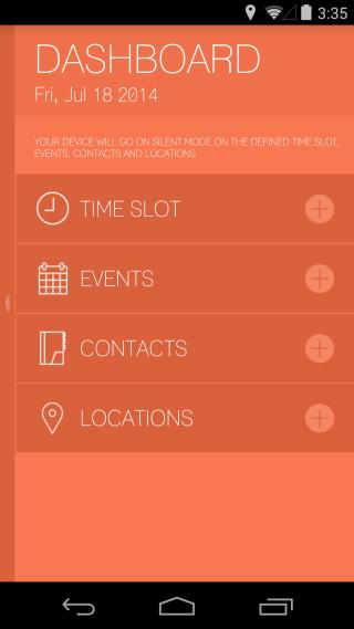 سایلنت شدن اتوماتیک گوشی,اپلیکشن جدید
