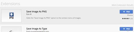 فرمت WebP, افزونه های گوگل کروم