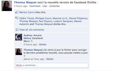 ترفندهای فیس بوک, افزونه های فایرفاکس