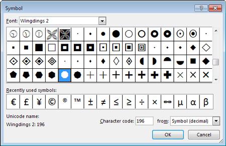 نرمافزار ورد, ایجاد چکباکس