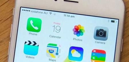 سیستم عامل موبایل, گوشی اپل